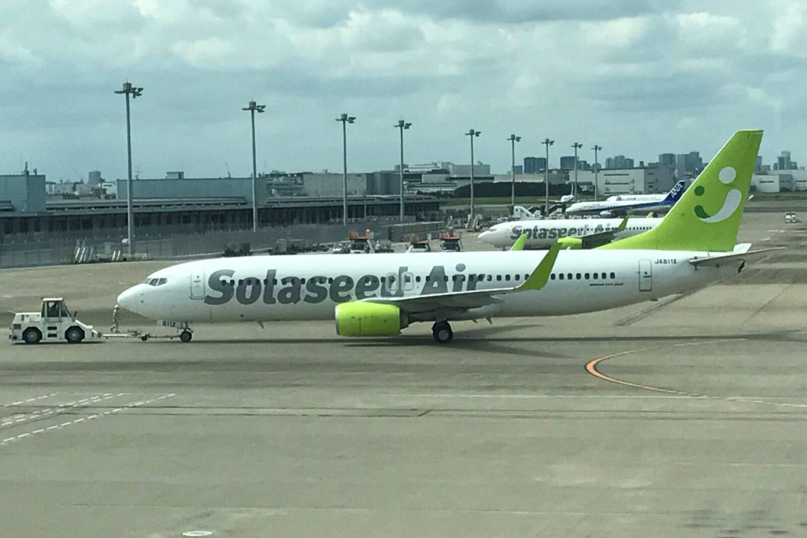 ソラシドエアの機体
