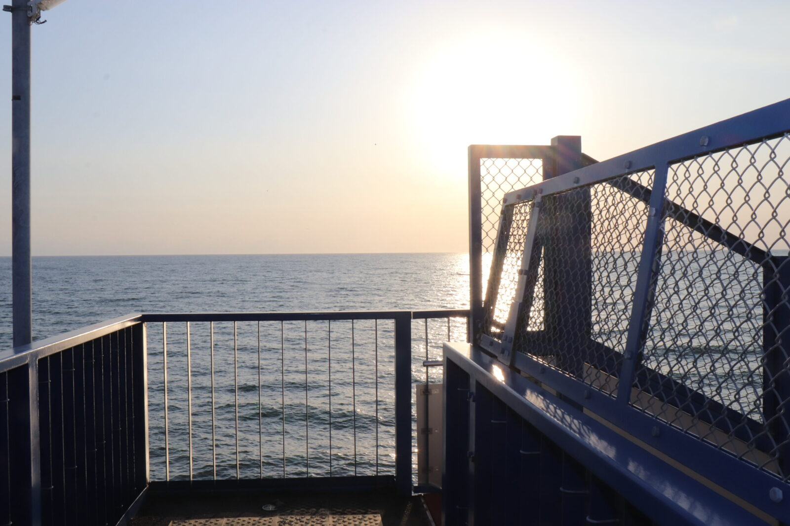 日帰りでもOK!北舟岡駅で海に沈む夕日を眺める