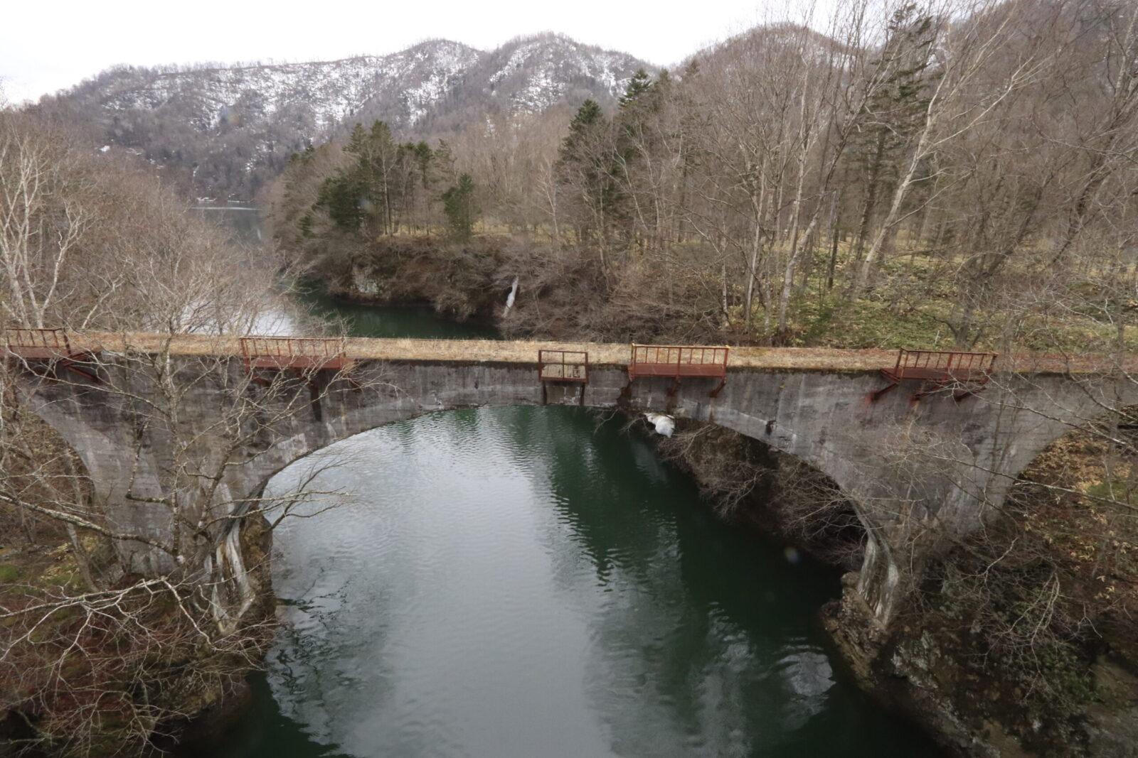 幻の橋タウシュベツ橋梁巡りの撮影おすすめスポットと注意点