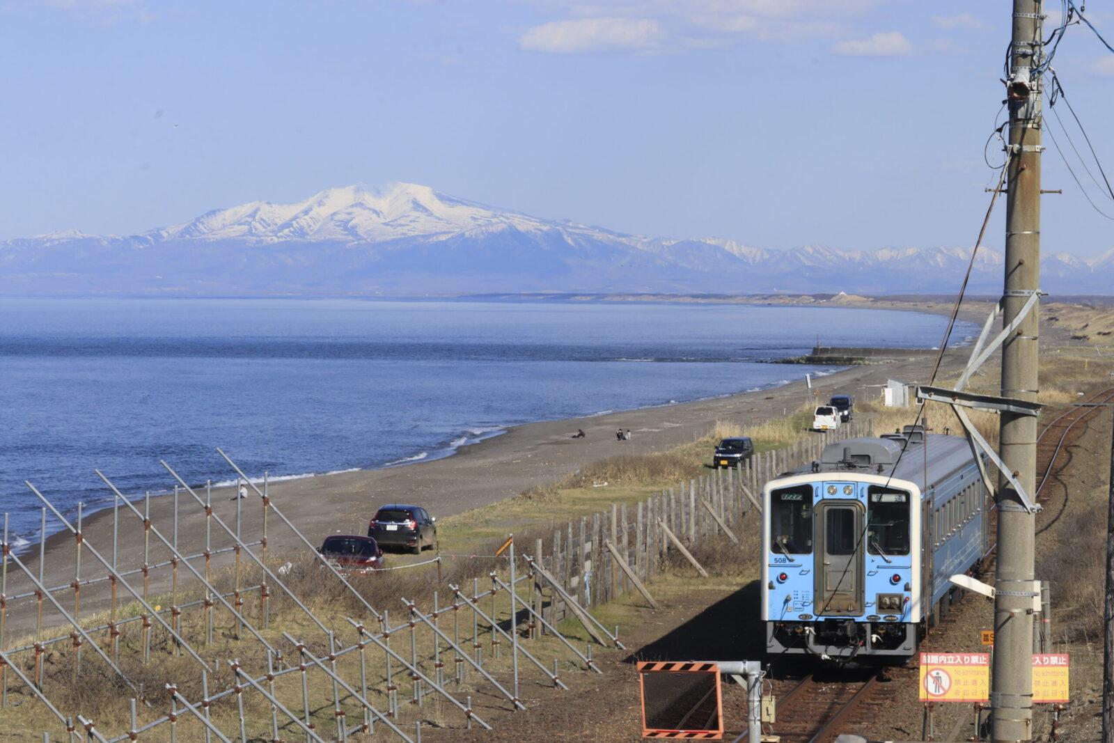 JR北海道 北浜駅からオホーツク海を眺める|釧網線撮影スポット