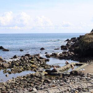 目の前が太平洋!函館・水無海浜温泉で大自然の中で入浴